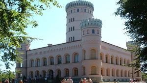 Das Jagdschloss Granitz auf dem Tempelberg