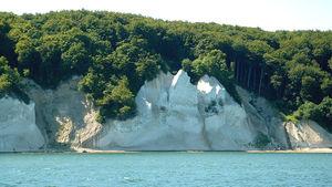 Wissower Klinken - 2004, von der See gesehen