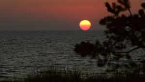 Sonnenaufgang am Strand von Baabe - 2