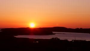 Sonnenuntergang über klein/gross Zicker